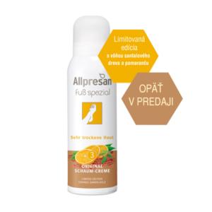 limitovaná edícia Allpresan santal a pomaranč